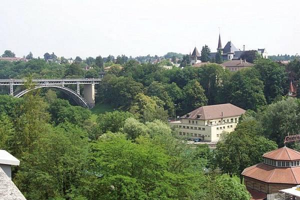 Bern 聯邦議會大廈後瞭望台