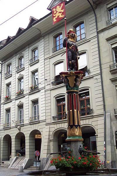 瑞士首都伯恩-哲林根噴泉