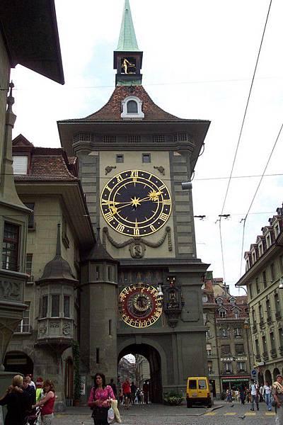 瑞士首都伯恩-鐘塔
