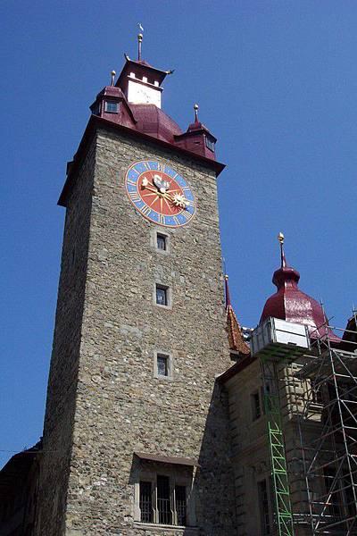 琉森 Luzern 舊市政廳 於1606年完成