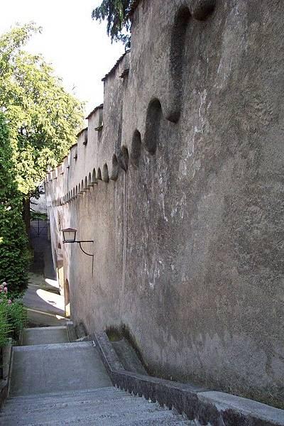 琉森 Luzern 慕西格城牆