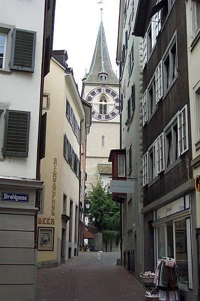 蘇黎世 Zurich-聖彼德教堂    O.S