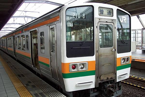 JR千種站要搭普通車去-岐阜