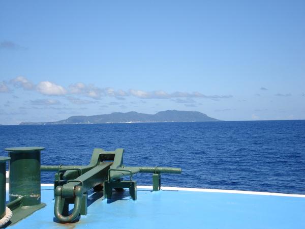 綠島就在前方啦