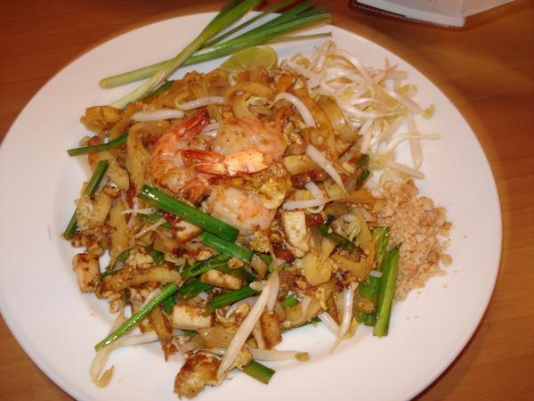 泰式炒粿條  Pad Thai  95B 不錯吃