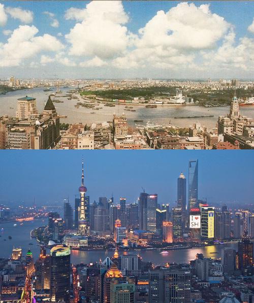 上海1990 vs 2010