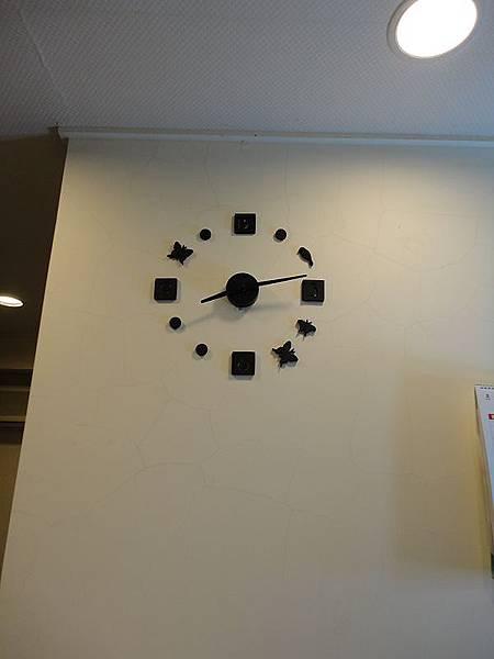 二代DIY立體數字鐘-蝶鳥版
