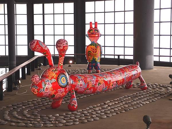 花博公園 - 洪易 動物派對 鋼板烤漆