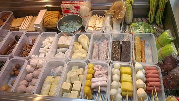 小鴨藥膳滷味新鮮食材
