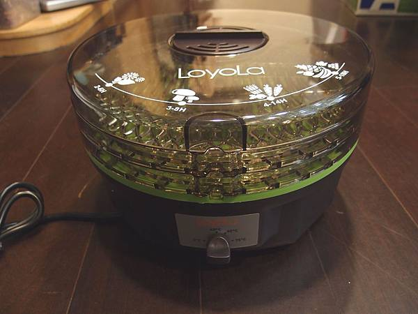 loyola hl 1080 蔬果乾燥機 側面