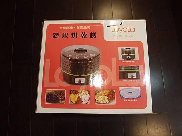 loyola hl 1080 蔬果烘乾機 外盒