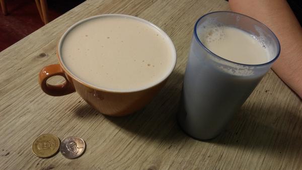 早鳥吃早餐 鮮奶茶 豆漿