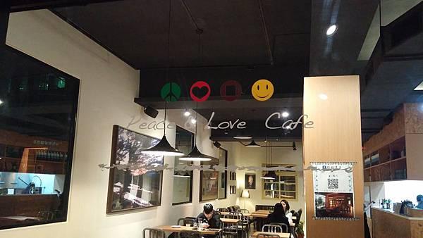 符號 Peace%26;Love 新店大坪林咖啡