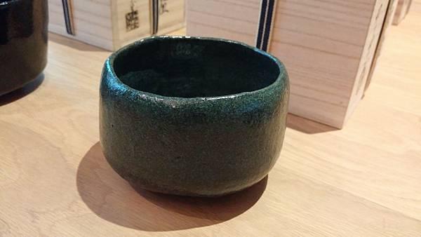 日本樂燒茶碗