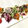 沙拉 & 前菜 : 香煎干貝6.JPG