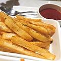 配菜:焗烤時蔬 辣味薯塊.JPG