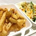 配菜:焗烤時蔬 辣味薯塊6.JPG