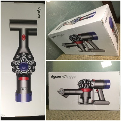 Dyson V7 Trigger包裝外盒