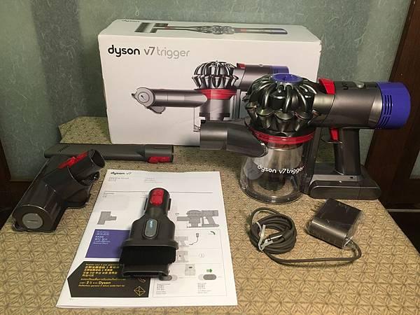 Dyson V7 Trigger 主機 配件 說明書