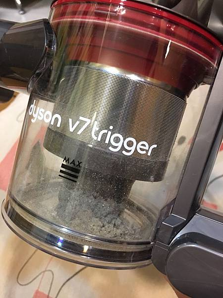Dyson v7 trigger 集塵筒