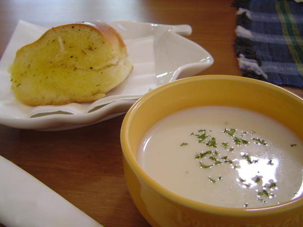 冬季暖湯+麵包