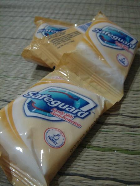 MNL機場送的肥皂.JPG