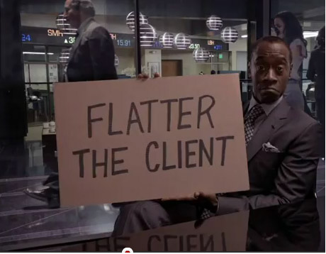 flatter-the-client