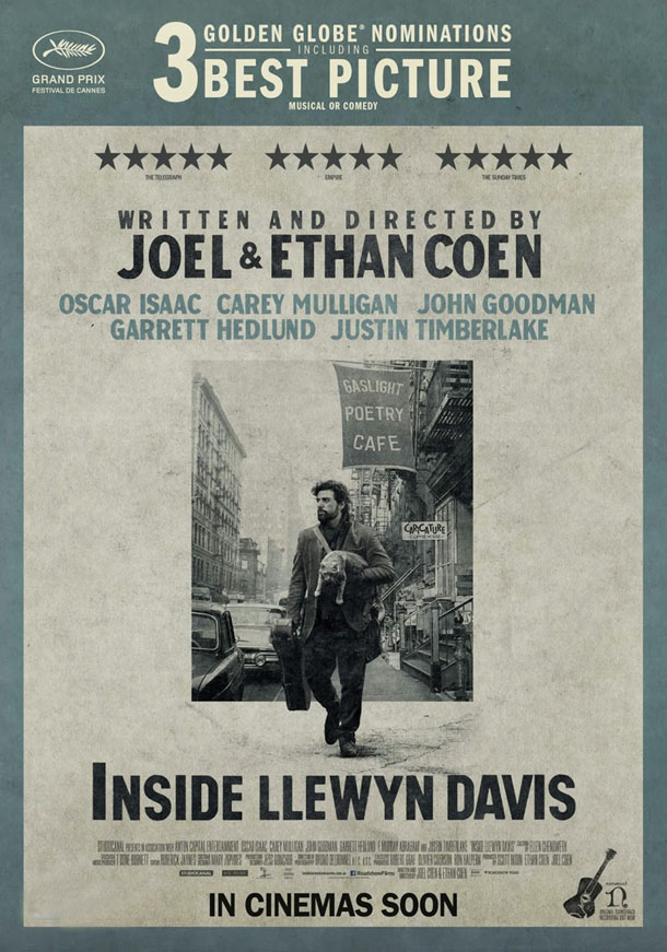 Inside Llewyn Davis AWARDS poster