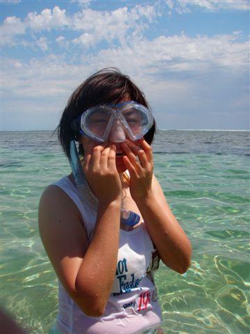 15 我要學一下浮潛.JPG