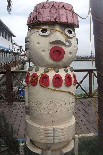南寮漁港餐廳裝飾.JPG