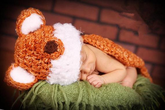 baby-9(狐狸毛帽戴起來很有型吧!不要太羨慕我唷!!)