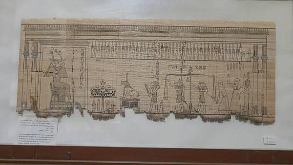 IMG_0170_D2_埃及博物館_五大重點之一莎草紙.JPG