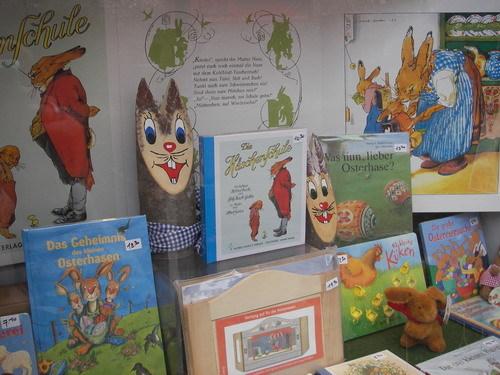 路邊書店裡的兒童繪本