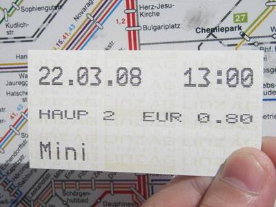 Mini是小孩的票價...0.8歐