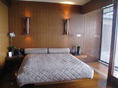 看起來很舒服的雙人床