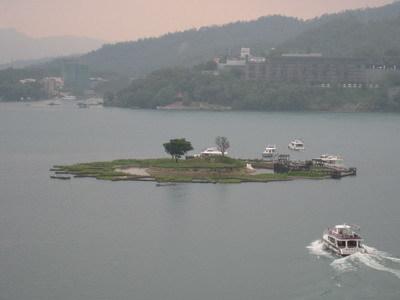 從玄光寺的位置俯看整座光華島