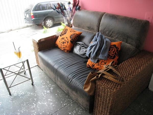等待區的沙發