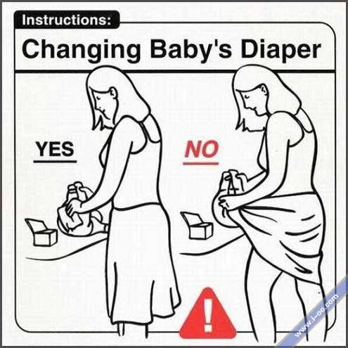 Changing bb's diaper.jpg