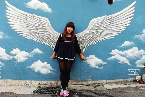 首爾旅遊▕ 跟著王世子的腳步尋找唯美的壁畫梨花洞이화벽화마을