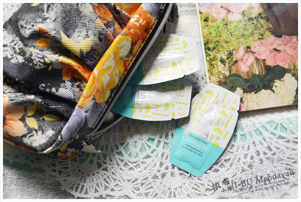 「彩妝」時尚巴黎高係數防曬~CARRIEME凱麗米-遇見彩虹防曬乳
