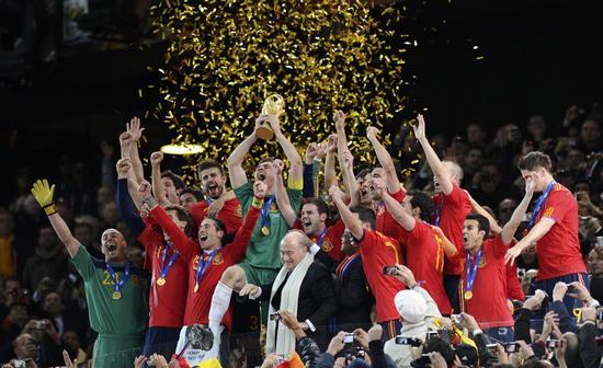 世足冠軍西班牙
