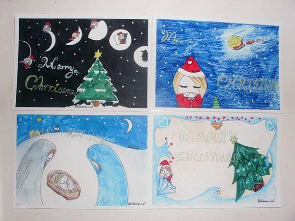 2012限定聖誕明信片