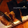 鮭魚烤飯團