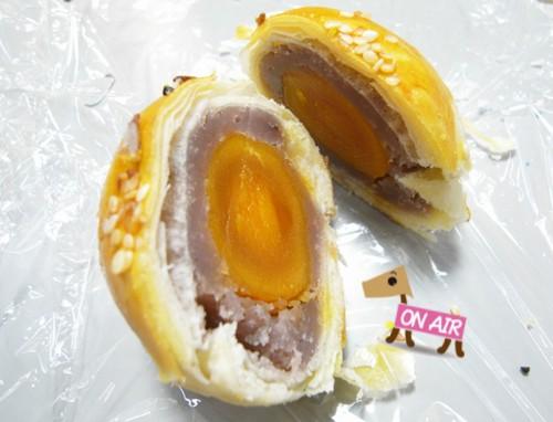 芋泥蛋黃酥