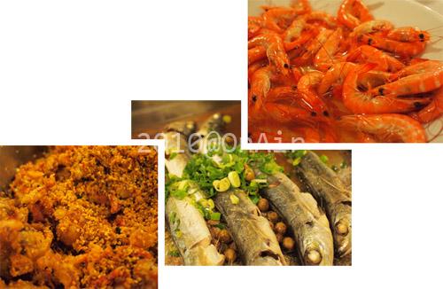 避風塘軟殼蟹+樹子蒸鮮魚+白芍蝦.jpg