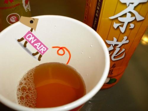 待結合的茶花