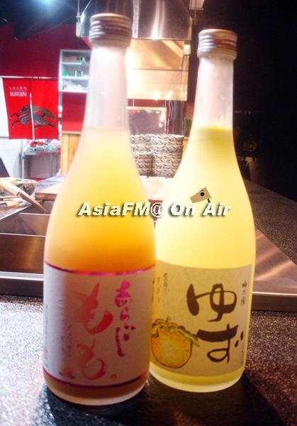 水蜜桃酒+柚子酒