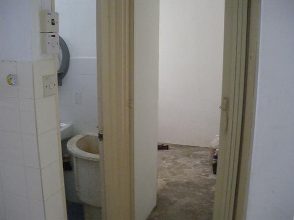 整棟唯一沒整修好的房間