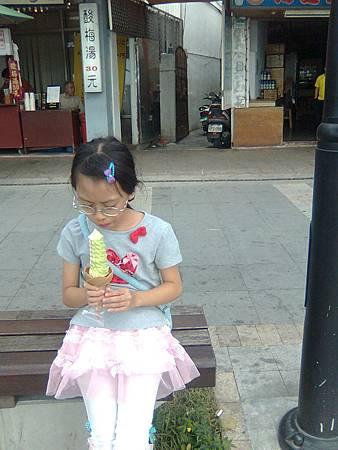 20121013淡水霜淇淋