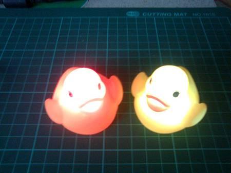 發光黃色小鴨